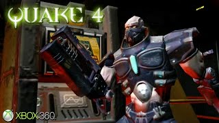 Quake 4 - Gameplay Xbox 360 (Release Date 2005)