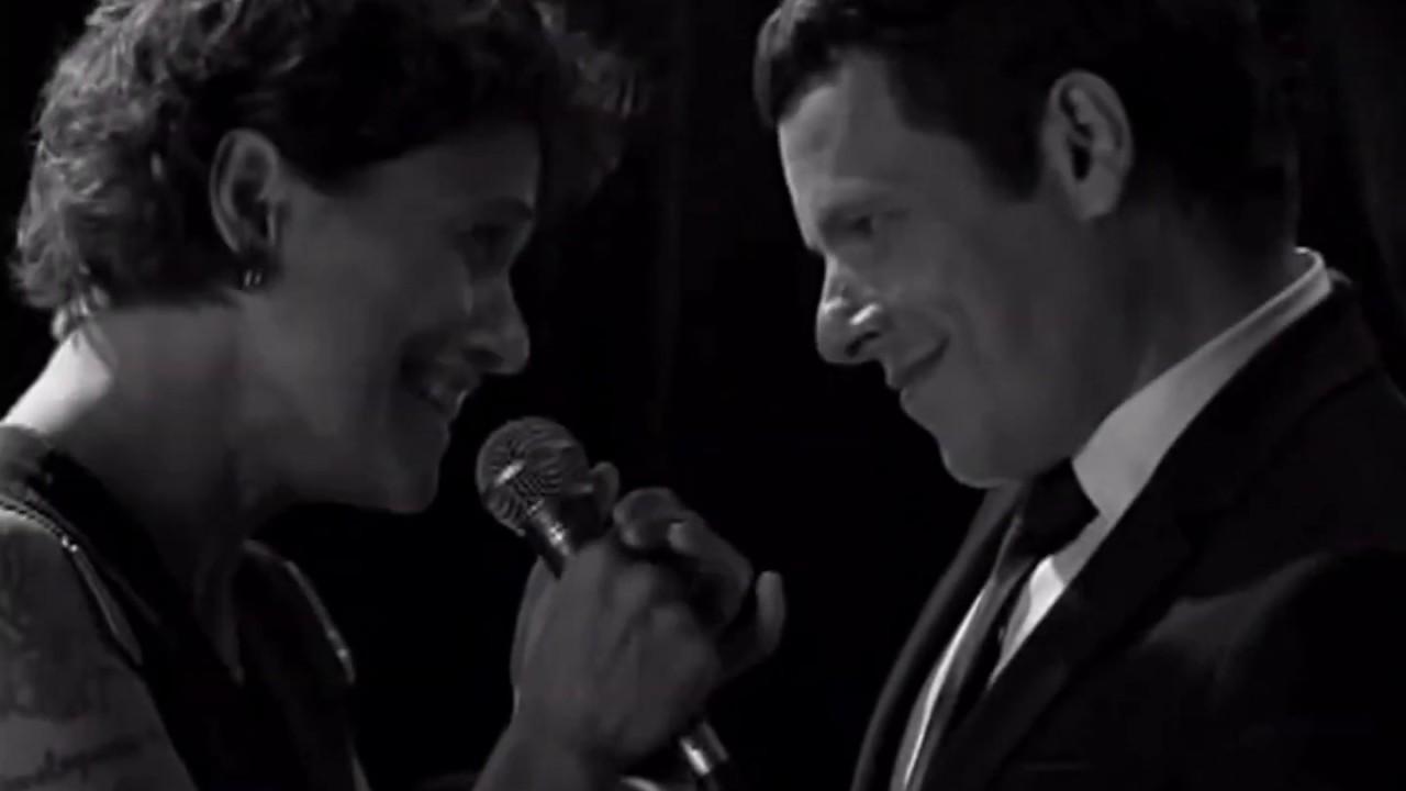 A FALTA (Without You) ► Zélia Duncan e Toni Platão (DVD Pros Que Estão Em Casa, 2008)