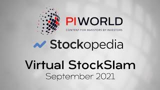 The Stockopedia/PIWORLD Virtual StockSlam September 2021