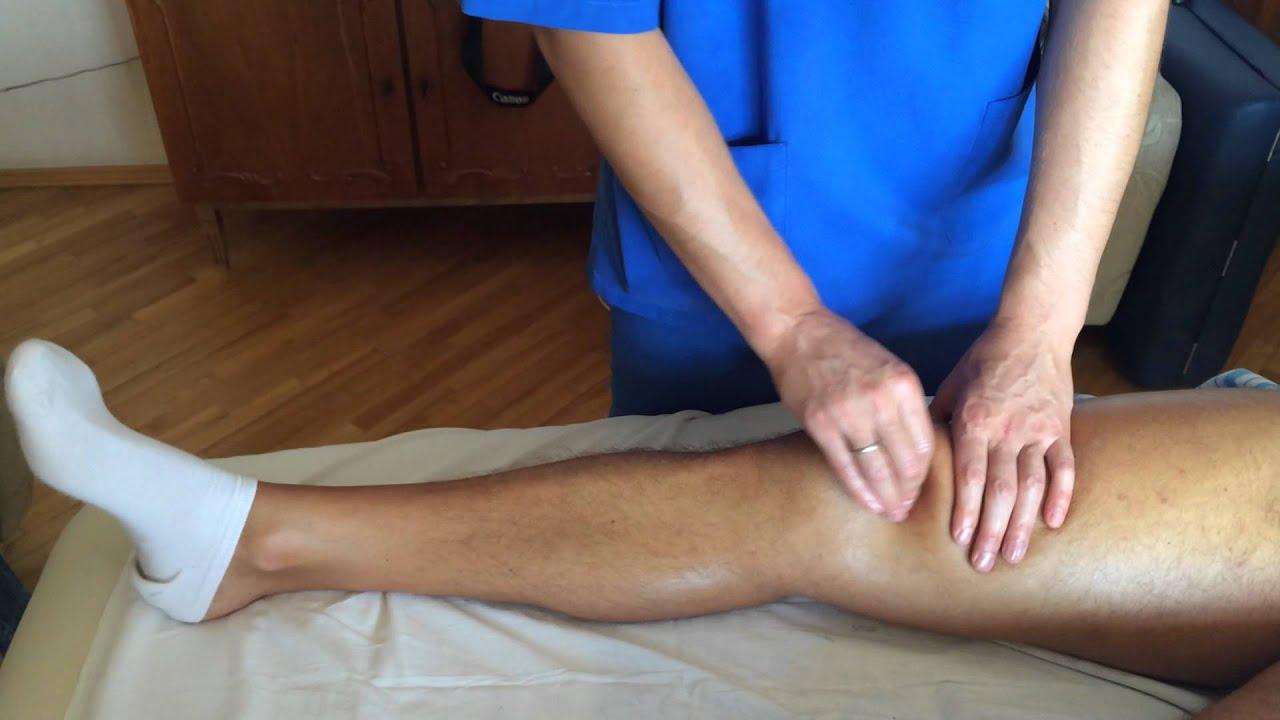 Артроз коленного сустава массаж видео противопоказания для операции на передней крестообразной связке коленного сустава