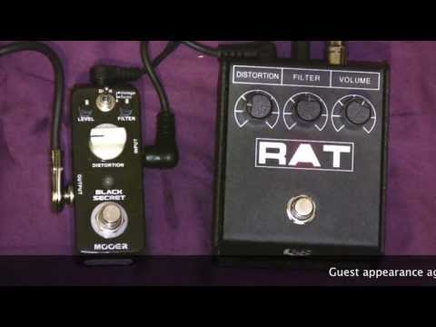 Mooer Black Secret Rat Clone Vs ProCo Rat Distortion Pedal Comparison