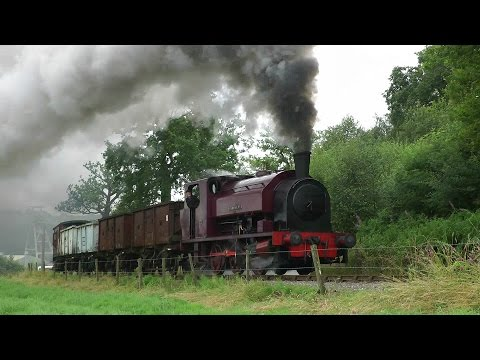 Foxfield Railway - Summer Steam Gala - 2014