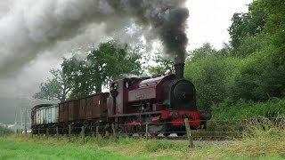 Foxfield Railway,Summer Steam Gala,2014