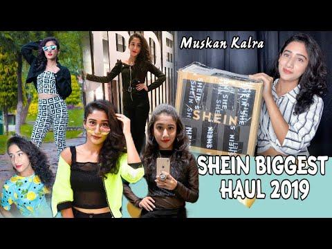 SHEIN 11TH Anniversery Sale 2019  Best Priced Haul Ever?  TryOn Haul-Tops,Dresses Etc.  Muskan Kalra