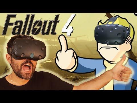 Fallout 4 VR en Realidad Virtual #1 -   HTC Vive