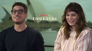 Tidelands - Interview with Charlotte Best & Marco Pigossi