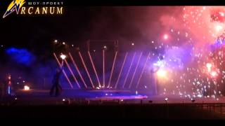 Огненное шоу (фаер шоу) в Харькове