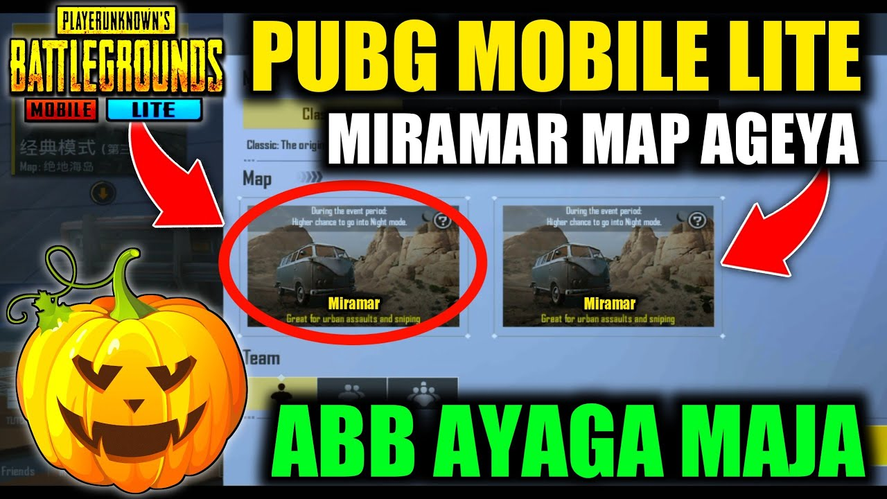Pubg Mobile Lite New Update 0.15.0 || Miramar update || Halloween update || season 5 giveaway