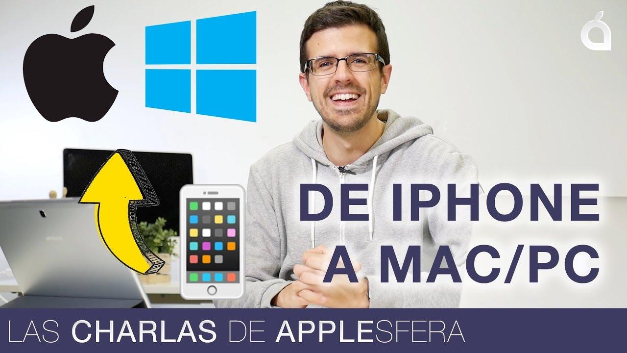 Trucos Y Programas Para Pasar Fotos De Iphone A Pc: Guía ...