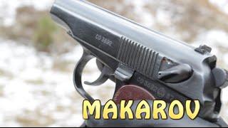 Makarov PM : Classic Soviet sidearm.