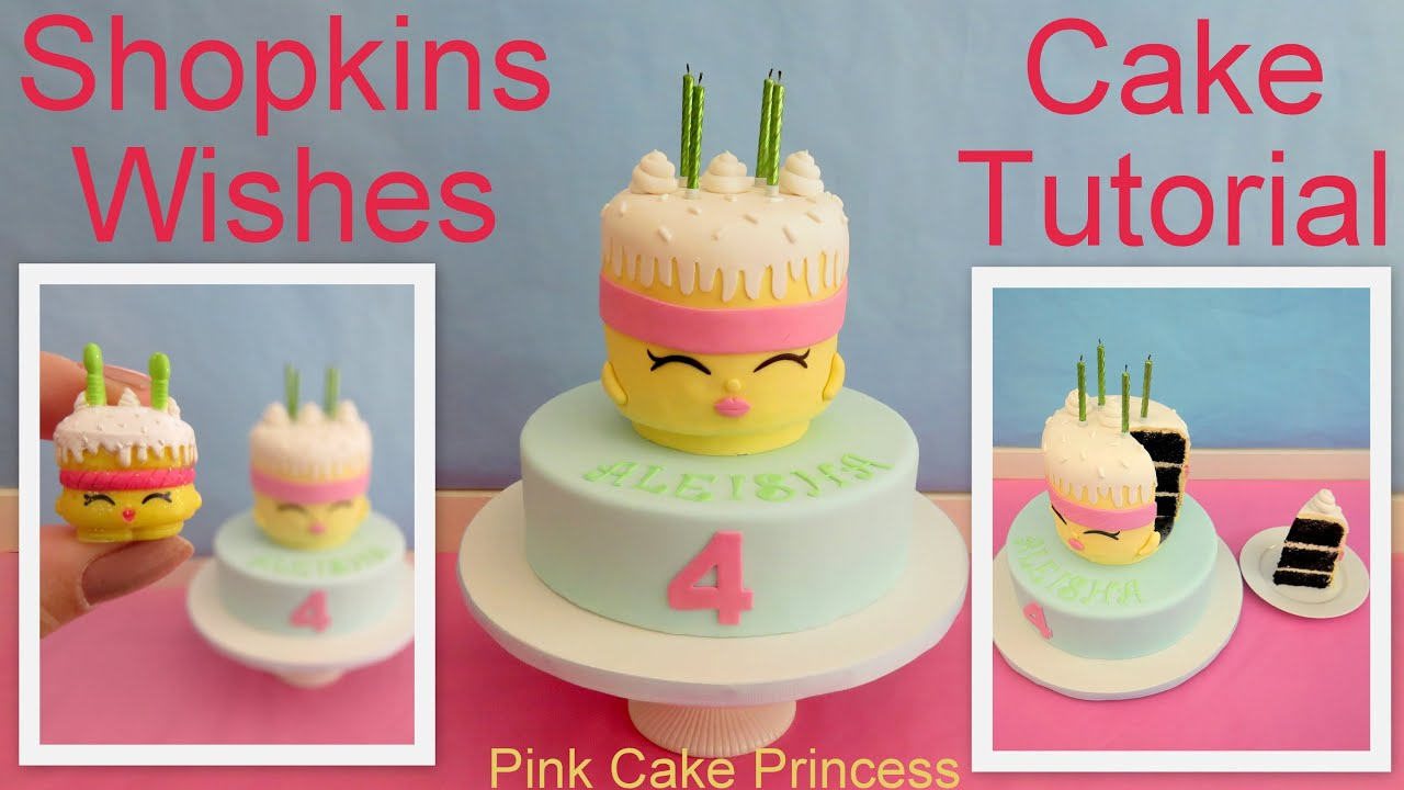 Shopkins Cake How to Make Shopkins Wishes Birthday Cake by Pink