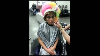 Bella Beauty College: Easter Colors Hairstyle Thumbnail