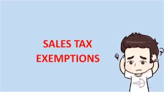 Does your business qualify for the new SST Sales Tax Exemption