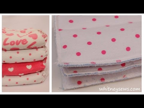 The BEST DIY Cloth Diaper Soakers How-To - Whitney Sews