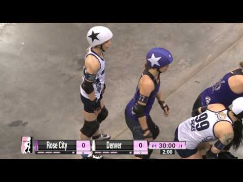Game 17:  Rose City Rollers v Denver Roller Derby
