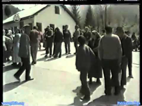 Visegrad Agresija 1992 Niski korpus JNA (propaganda srpskih tv)
