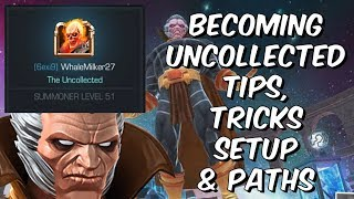 Becoming Uncollected - Setup, Paths, Tips & Tricks - Marvel Contest Of Champions