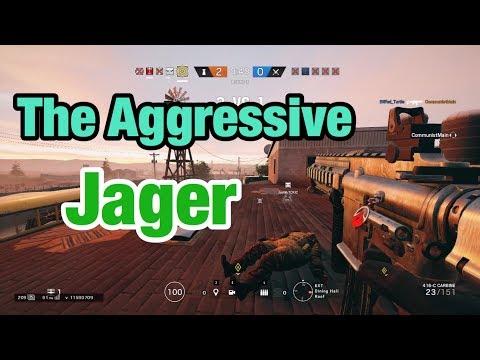 The Aggressive Jager - Rainbow Six Siege