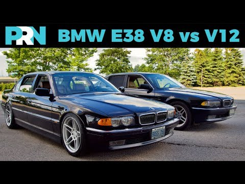 E38 V12 vs V8 | TestDrive Showdown