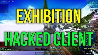 Exhibition   Hacking on Hypixel Skywars #2   PRIVATE HACKED CLIENT
