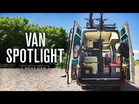 Sprinter motorhome by Outside Van packs unique, minimalist layout