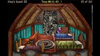 Let's Play King's Quest 3 (Redux) - Part 2 - Gwydion-Locks