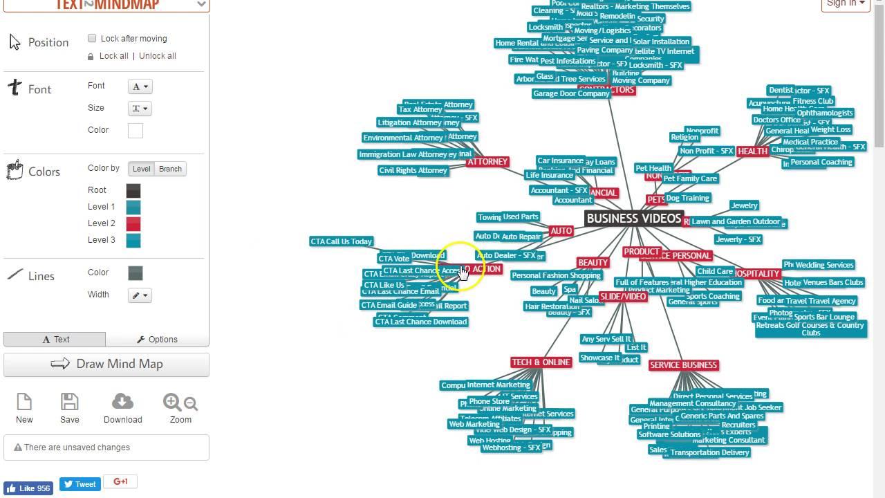 Mind Map Tool Text2Mindmap Demo | Way Cool MindMap Tool Goes Floaty Floaty   YouTube