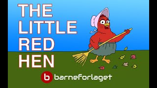 THE LITTLE RED HEN | Fairy Tale | Bedtime story with colorful pictures | famoustales.com
