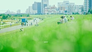 odol - 歩む日々に / side by side (Lyric Video) #はためきとまなざし