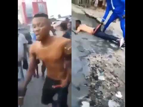 Yahoo boy runs mad after failing to use his mother for money ritual