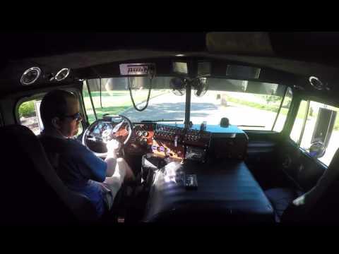 A quick ride inside the Decepticon Motormaster Kenworth K100 Aerodyne