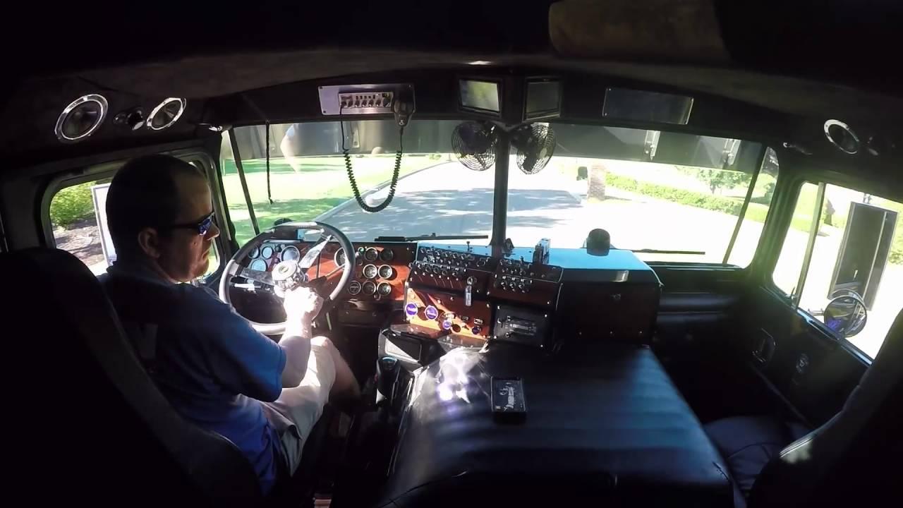 A Quick Ride Inside The Decepticon Motormaster Kenworth