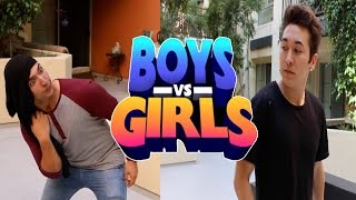 What girls think VS what guys think (feat. Corey Scherer) | BrennenTaylor