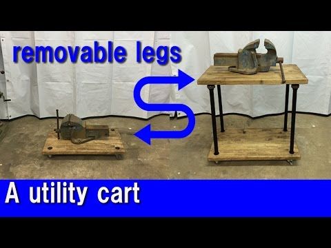 [DIY] A utility cart with removable legs