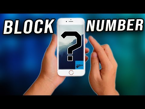 How to Block a Number / Contact on iPhone