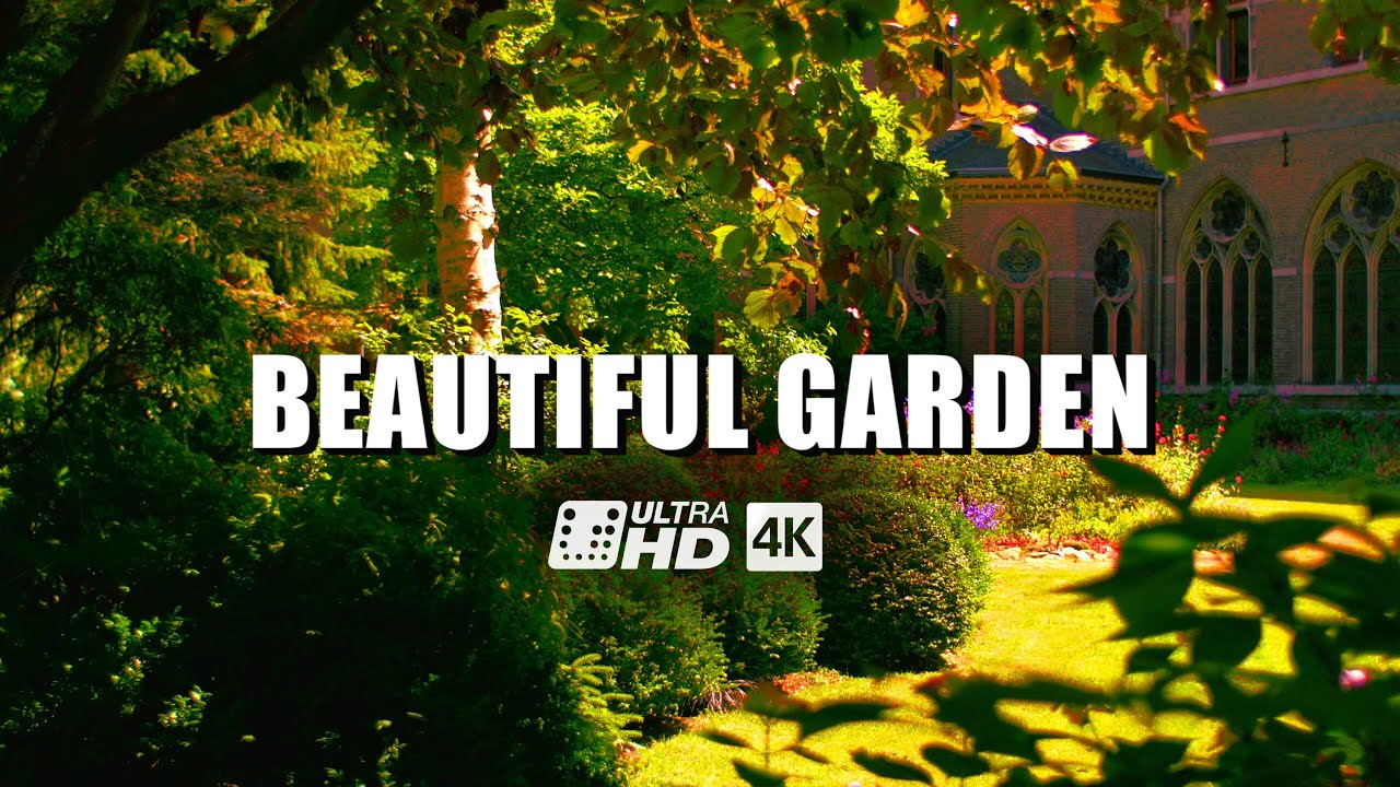 beautiful garden 4k/uhd | panasonic lumix dmc-gh4 | harry pierik