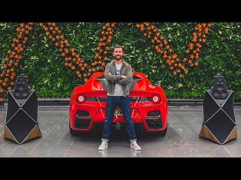 What's Louder? Ferrari F12 TDF or Bang & Olufsen Beolab 90!?