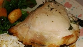 Herbed Chicken Legs