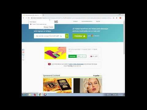 Como Descargar Vídeos de Youtube Sin Programas Fácil y Rápido SS/ | Tutorial Rápido