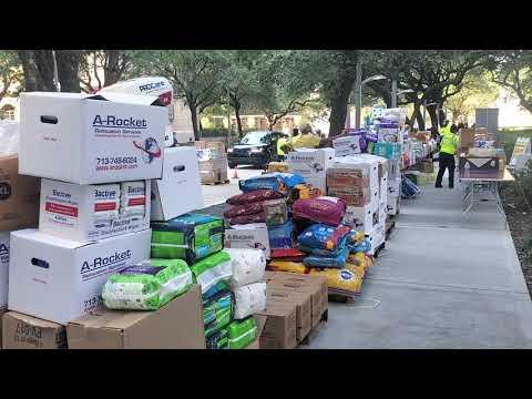 Hurricane Ida Supply Drive at City Hall