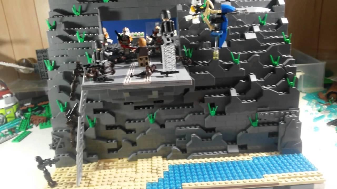 Batman 3d Live Wallpaper Huge Lego Star Wars Hidden Clone Base On Utapau Mini Moc