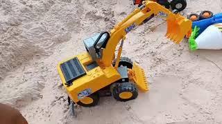 Toys Car for Children Excavator helps Trucks