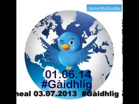 Agallamh Rèidio air Latha Twitter - Radio Interview on Gaelic Twitter Day 01.06.2014