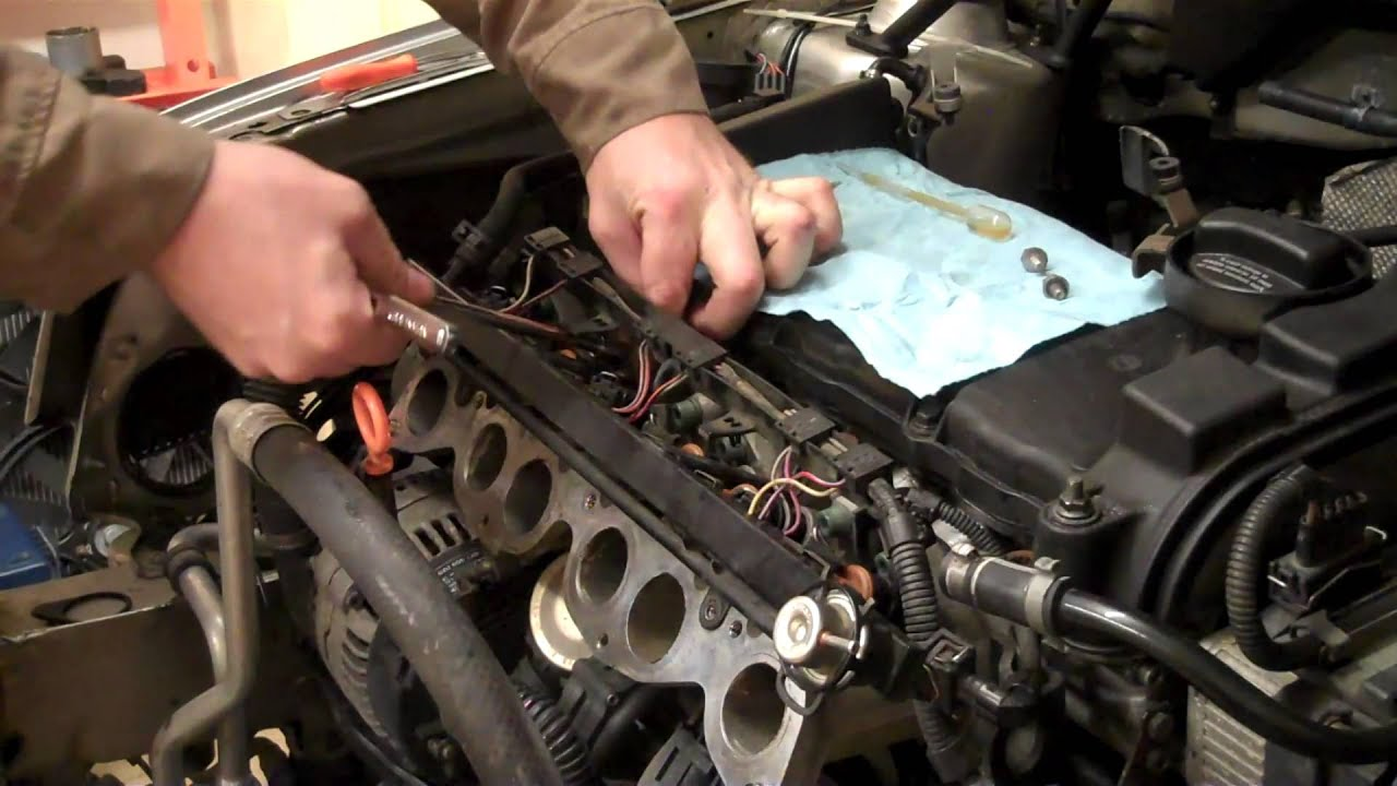 Cat 5 Wiring Voltage Vr6 Injector Removal How To Diy Golf Jetta Corrado 2 8l
