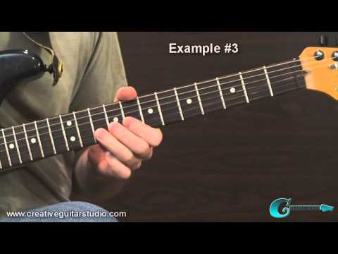 GUITAR THEORY: Dominant 7th Pentatonic