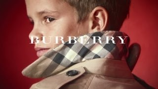 Beckhams' Son Is New Burberry Star