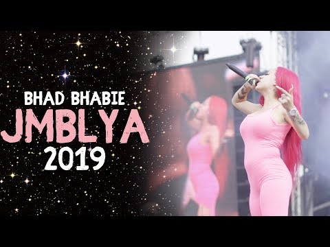 "BHAD BHABIE - Live in Texas at JMBLYA performing ""Bestie"" 