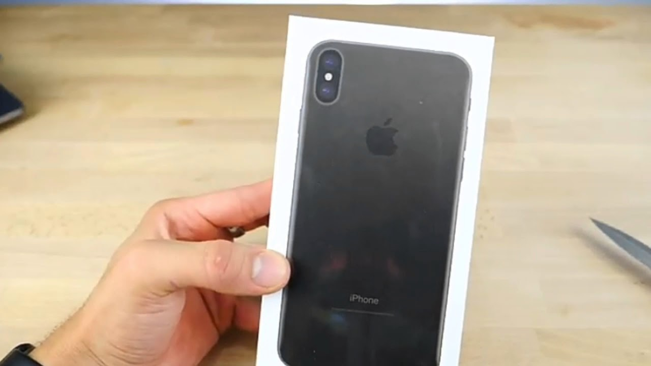 iphone 7 unboxing iphone x 10 unboxing amp look 11566
