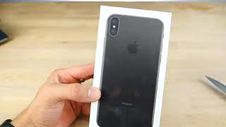 iPhone X / 10 Unboxing & first look