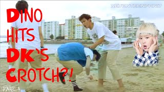 [Dino Hits DK's Crotch?!] What You Don't Notice in Adore U Part: 4 thumbnail